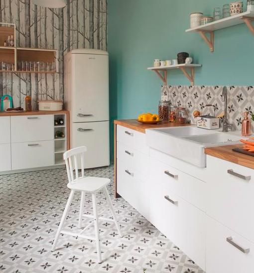 relooker sa cuisine peinture cuisine couleurs tendances pour une cuisined coration cuisine. Black Bedroom Furniture Sets. Home Design Ideas