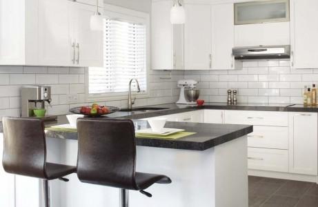 Charme cuisine en blanc d coration cuisine simplicit for Decoration du cuisine