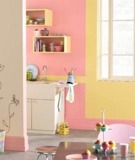D coration cuisine conseils pratiques astuces id es - Peinture cuisine rose ...