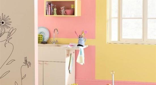 Top 5 des couleurs oser dans une cuisine d coration for Peinture pour cuisine professionnelle