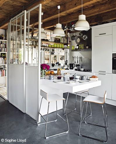 id es d 39 installation de verri res en photod coration cuisine. Black Bedroom Furniture Sets. Home Design Ideas