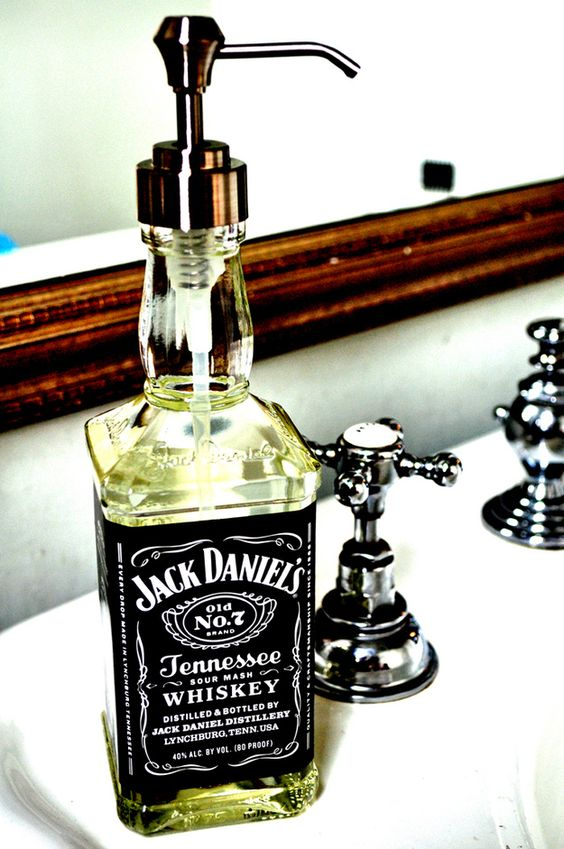 Une jolie réalisation pour réutiliser une bouteille vide !