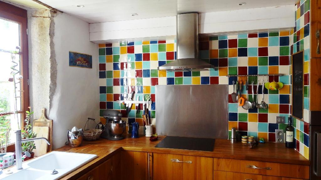 Bon Faïence Murale Pour Une Cuisine   Couleurs Carrelage Mural Terre  CuiteDécoration Cuisine