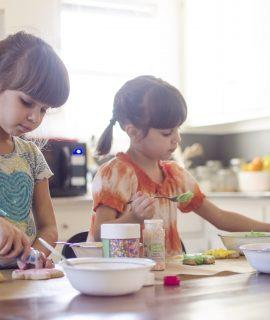 Organiser sa cuisine pour laisser de la place aux enfants